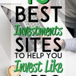 best investments sites to help you invest like a pro pinterest pin