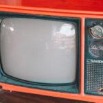 image of vintage tv