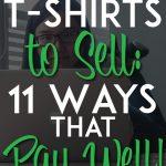 Design t-shirt to make money pinterest pin