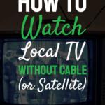 cara nonton tv lokal tanpa kabel