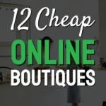 text 12 cheap online boutiques