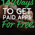 Ways to get paid apps for free pinterest pin