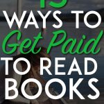 Get paid to read books pinterest pin
