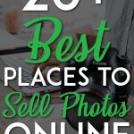 Places to sell photos pin for pinterest