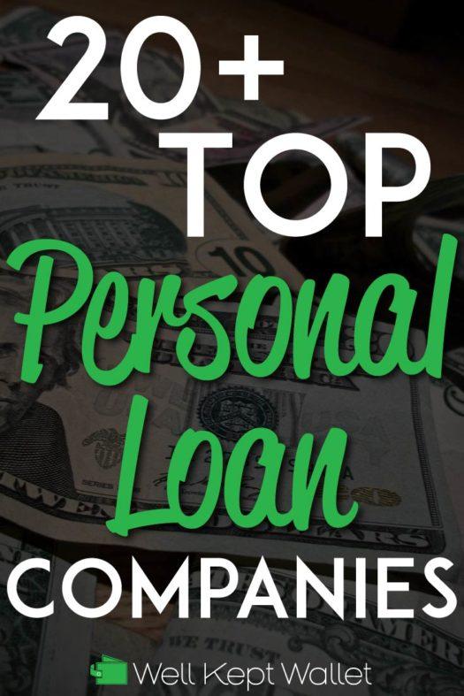 Top Personal Loan Companies Pinterest Pin