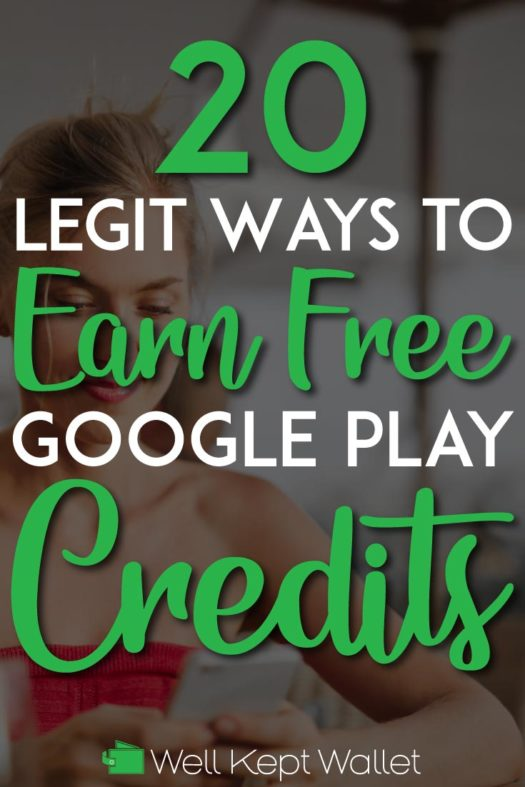 How to earn free google play credits pinterest pin