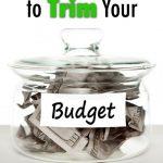 10 Ways to Trim Your Budget Pinterest