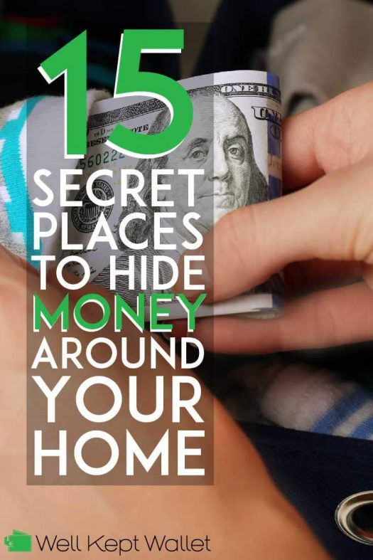 Best Places to Hide Money Around Your Home