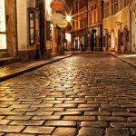Prague Lit Up at Night