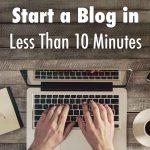 Cara Memulai Blog dalam Waktu Kurang dari 10 Menit