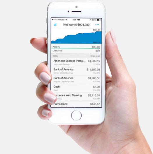 personal capital app on cell phone