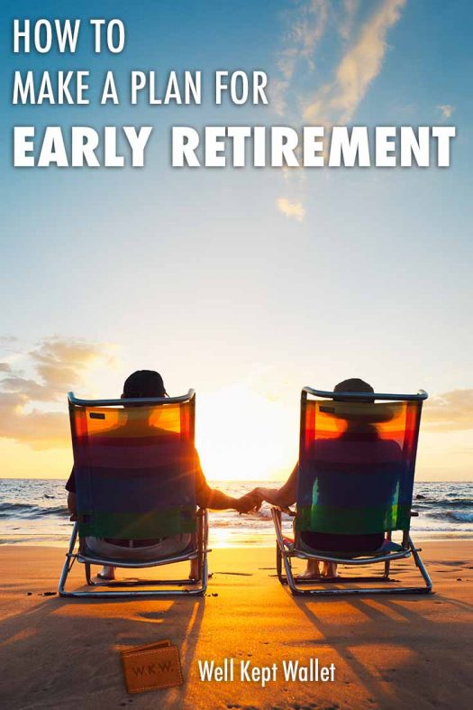How to Make a Plan for Early Retirement Pin
