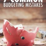 7 Common Budgeting Mistakes Pin