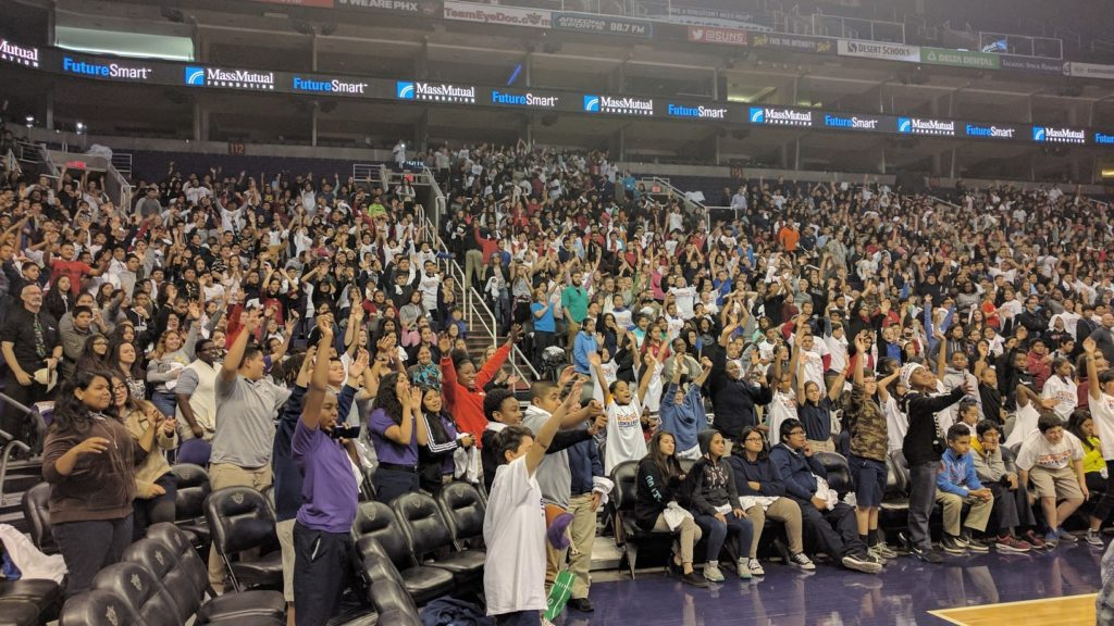 Future smart - 3000 middle school students