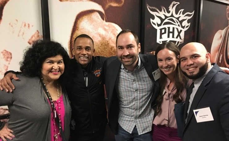 Hill Harper - Deacon Hayes and bloggers
