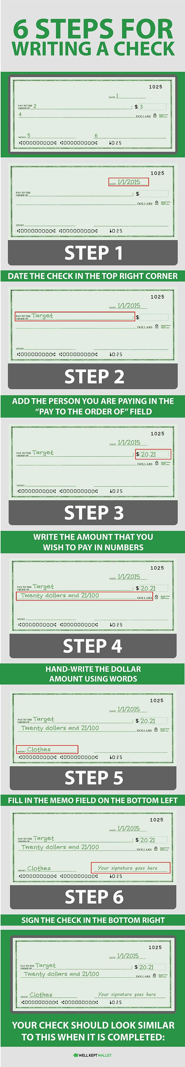 How to Write A Check in 6 Easy Steps