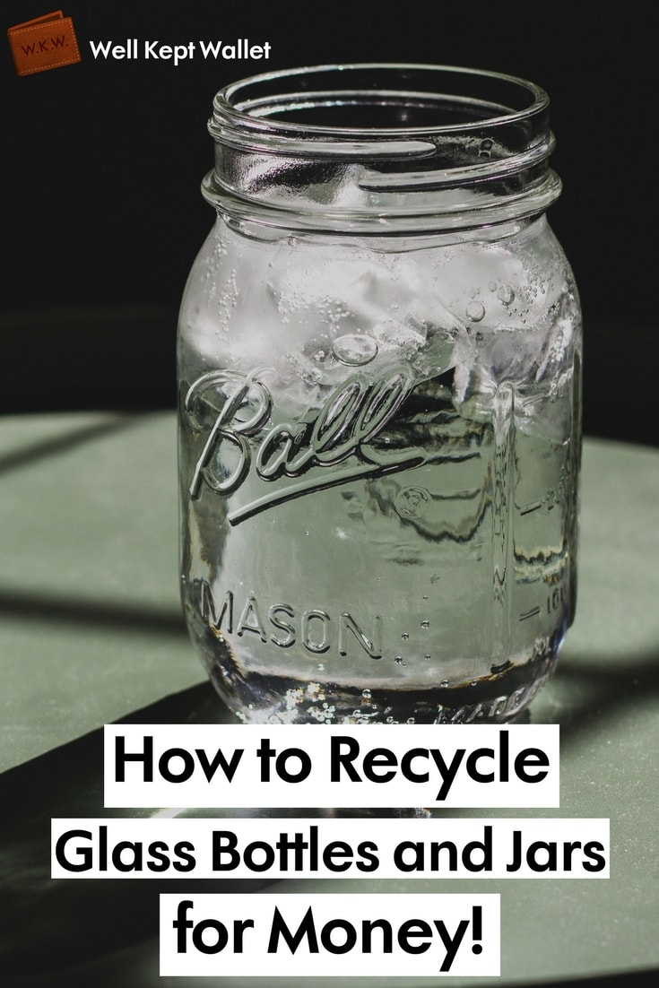 This isn't going to make you rich, but recycling glass bottles can help you earn a bit of extra cash each month if you live in a bottle bill state or country.
