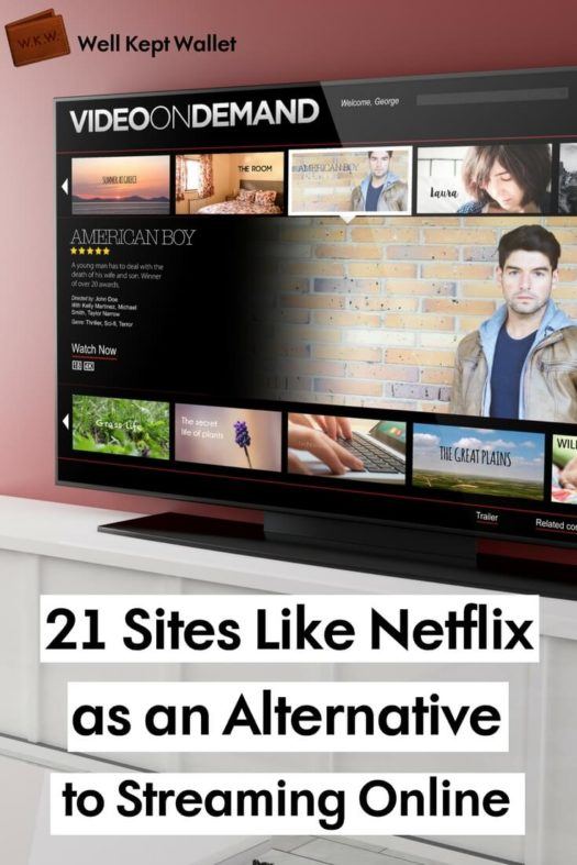 21 Sites Like Netflix as an Alternative to Streaming Online