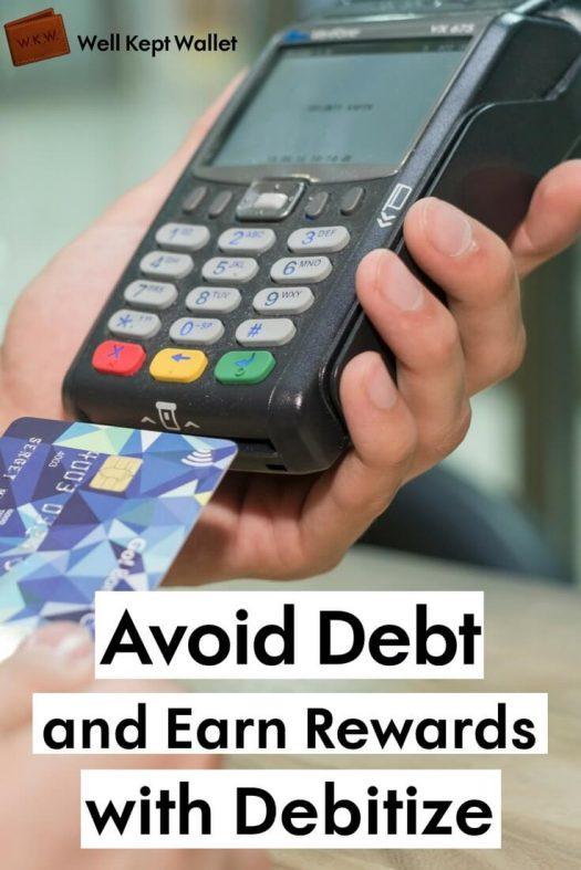Person scanning debit card PI