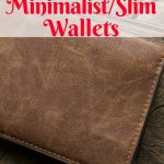 Thin leather wallet PI