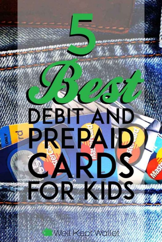 best debit and prepaid cards for kids pinterest pin