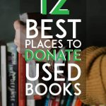 best places to donate used books pinterest pin