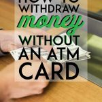 Cash Withdraw Pinterest