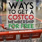 Costco cart pinterest