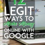 moyens légitimes de gagner de l'argent en ligne avec google pinterest pin