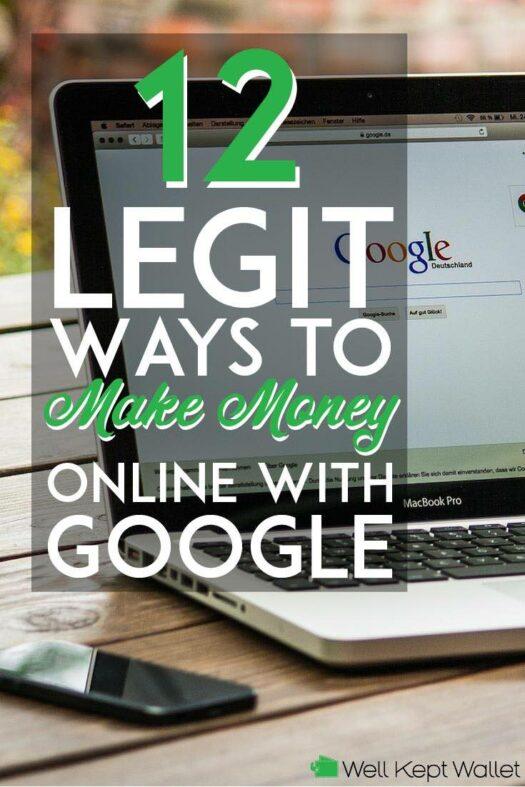 legit ways to make money online with google pinterest pin