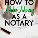 How to make money as a notary pinterest pin