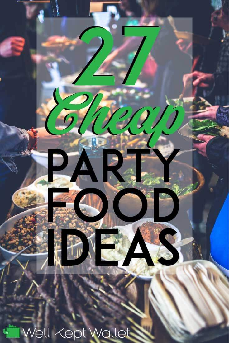 There are several keys to feeding a crowd for cheap. Some involve the types of food you choose to serve, while others involve how you get them. Here are some of my favorite cheap party foods, and ideas for making great party foods for less!