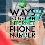 ways to get an internet phone number pinterest pin