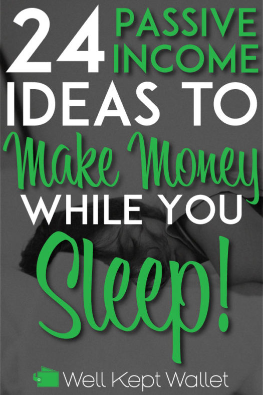 Passive Income Ideas Pin for Pinterest