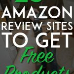 Amazon review sites to get free product pinterest pin