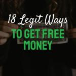 Legit ways to get free money