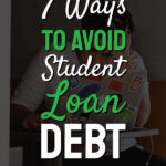 How to avoid student loan debt