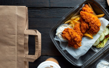 picture of delivery food