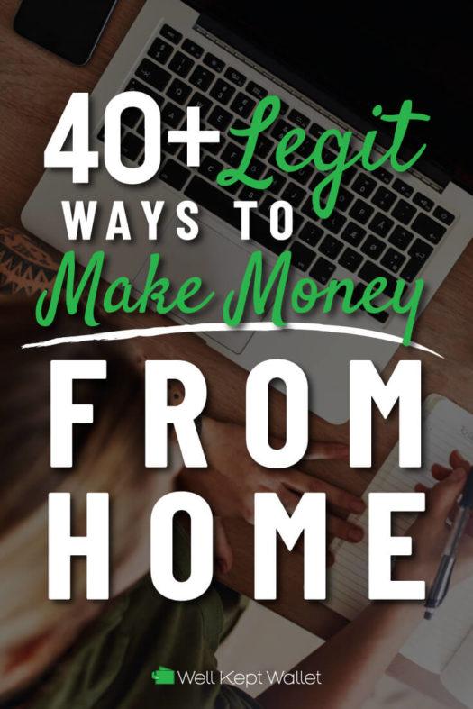 make money from home legit 2020