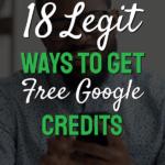 Get free google credits