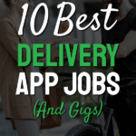 Text 10 best delivery app jobs