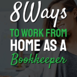 words on page 8 ways to work from home as a bookkeeper