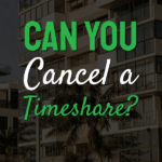 text can you cancel a timeshare