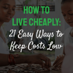 words how to live cheaply