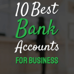 Text with Best Ban Accounts for Business