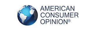 American Consumer Opinion Globe logo