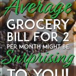 The average grocery bill for two surprising pinterest pin