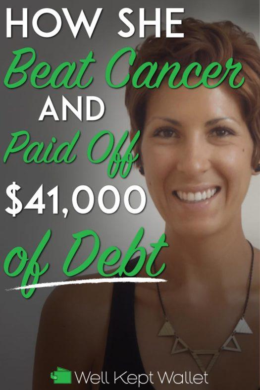 Beat Cancer and Debt Pinterest Pin