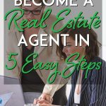 How to become a real estate agent pinterest pin