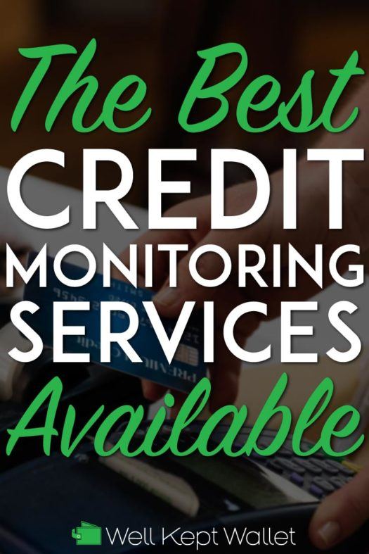 Best credit monitoring pinterest pin